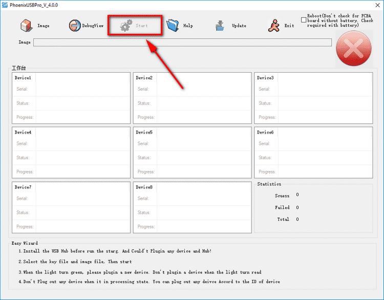 How to Flash Stock ROM Using Phoenix USB Pro - 2
